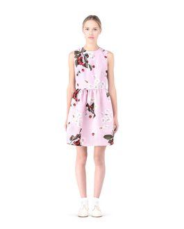 REDValentino Daisies and Cherries printed dress