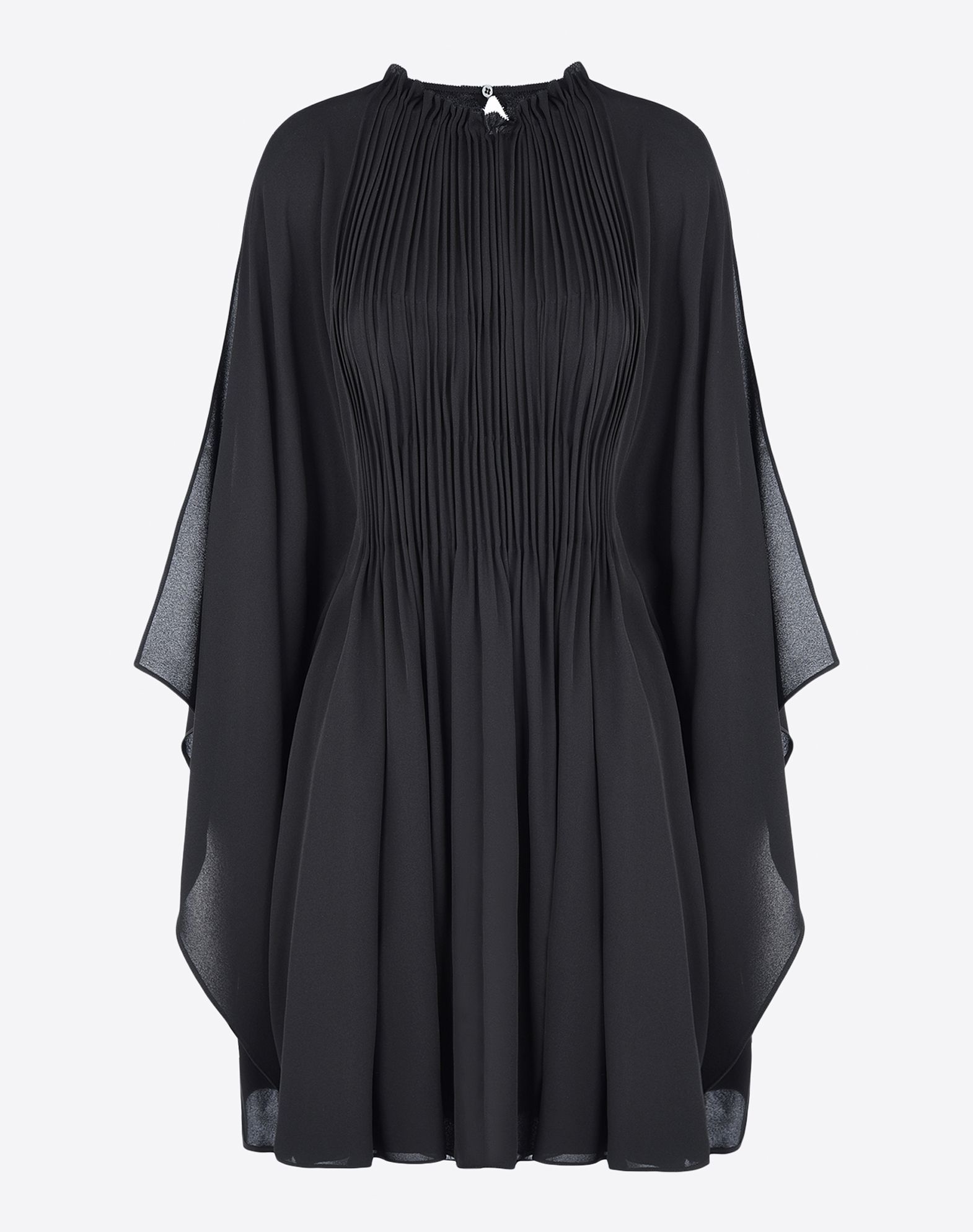 VALENTINO Crêpe Solid color Round collar 1 button Lined interior Pleated detailing 3/4 length sleeves  34586057tf