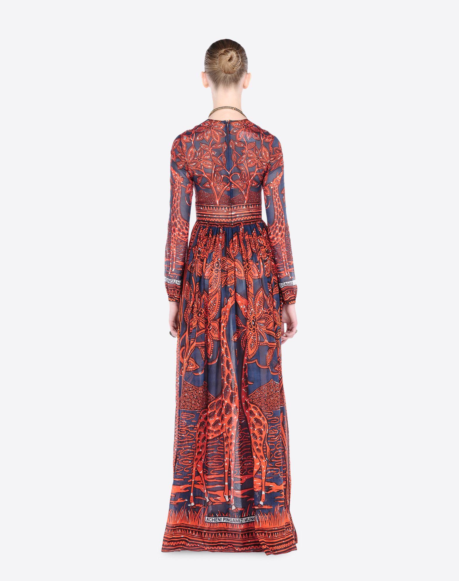 VALENTINO KB0VD2S52J0 GR1 Dress D a
