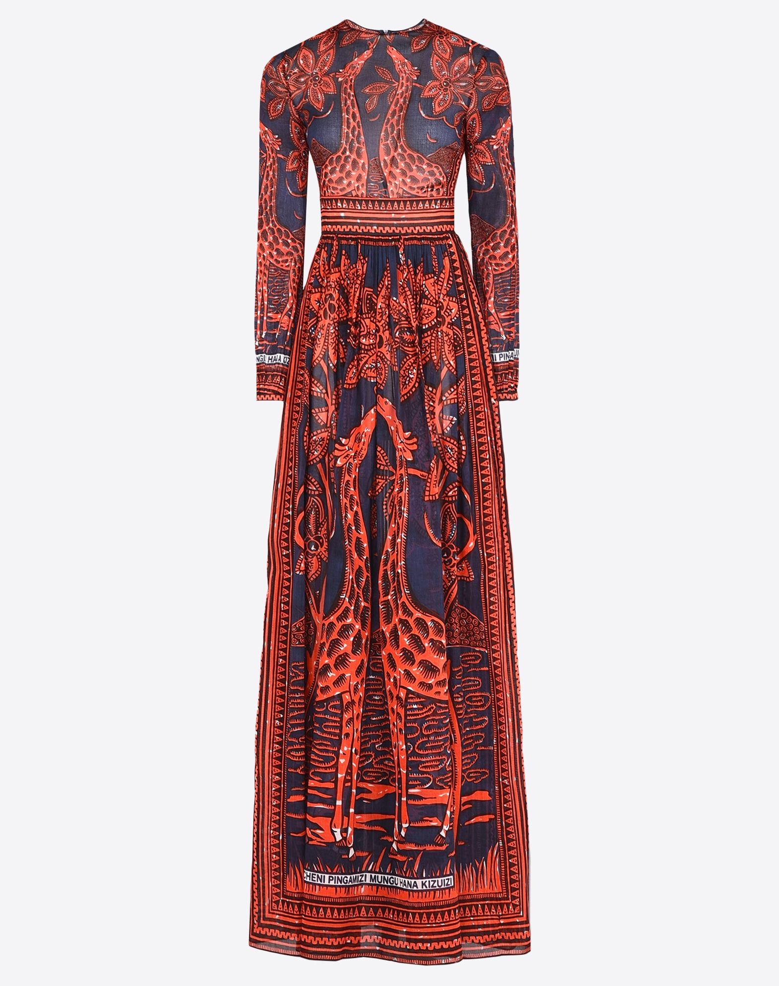 VALENTINO KB0VD2S52J0 GR1 Dress D f