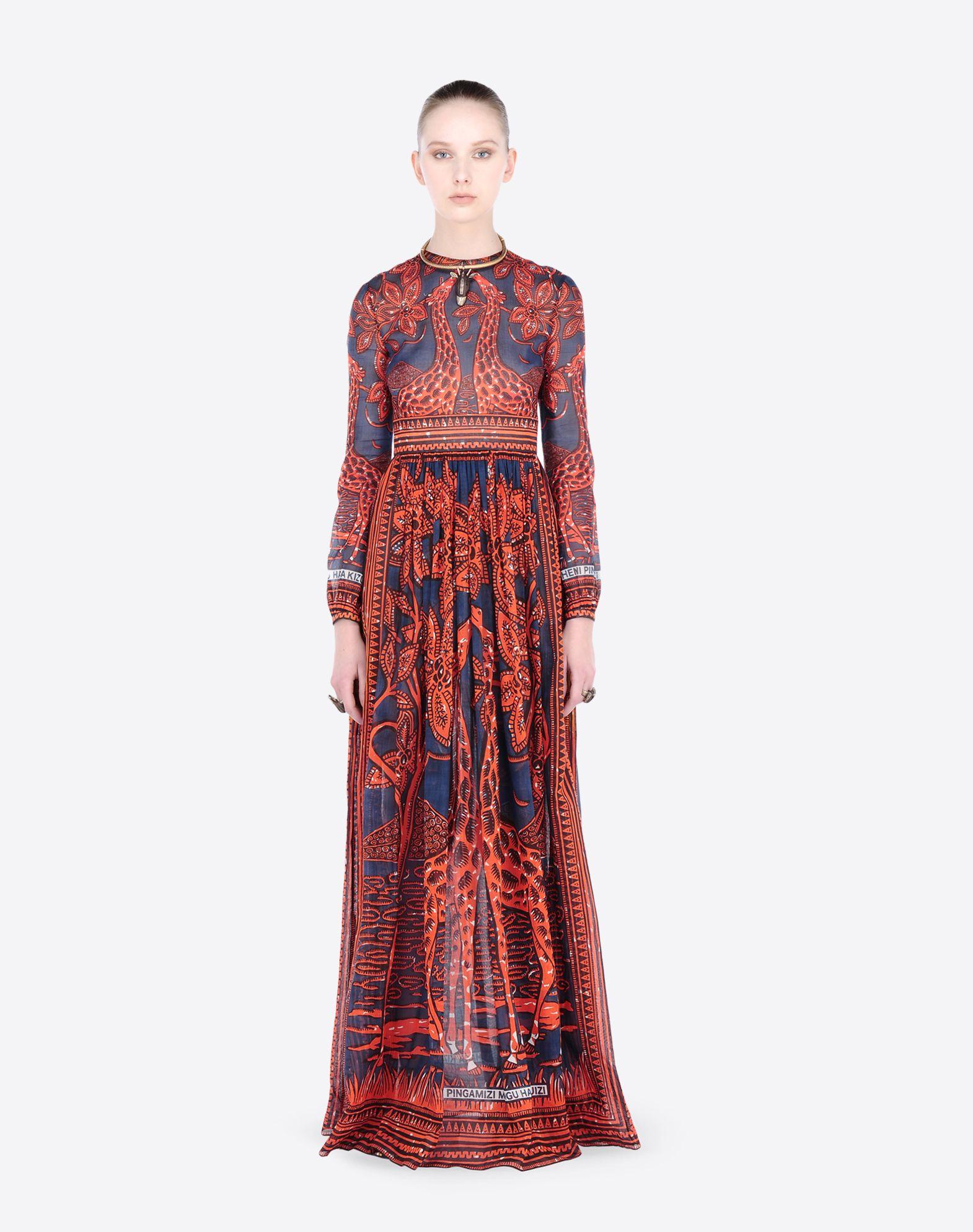 VALENTINO KB0VD2S52J0 GR1 Dress D r