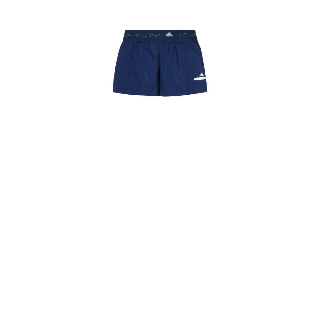 Blue low waste shorts - ADIDAS by STELLA McCARTNEY