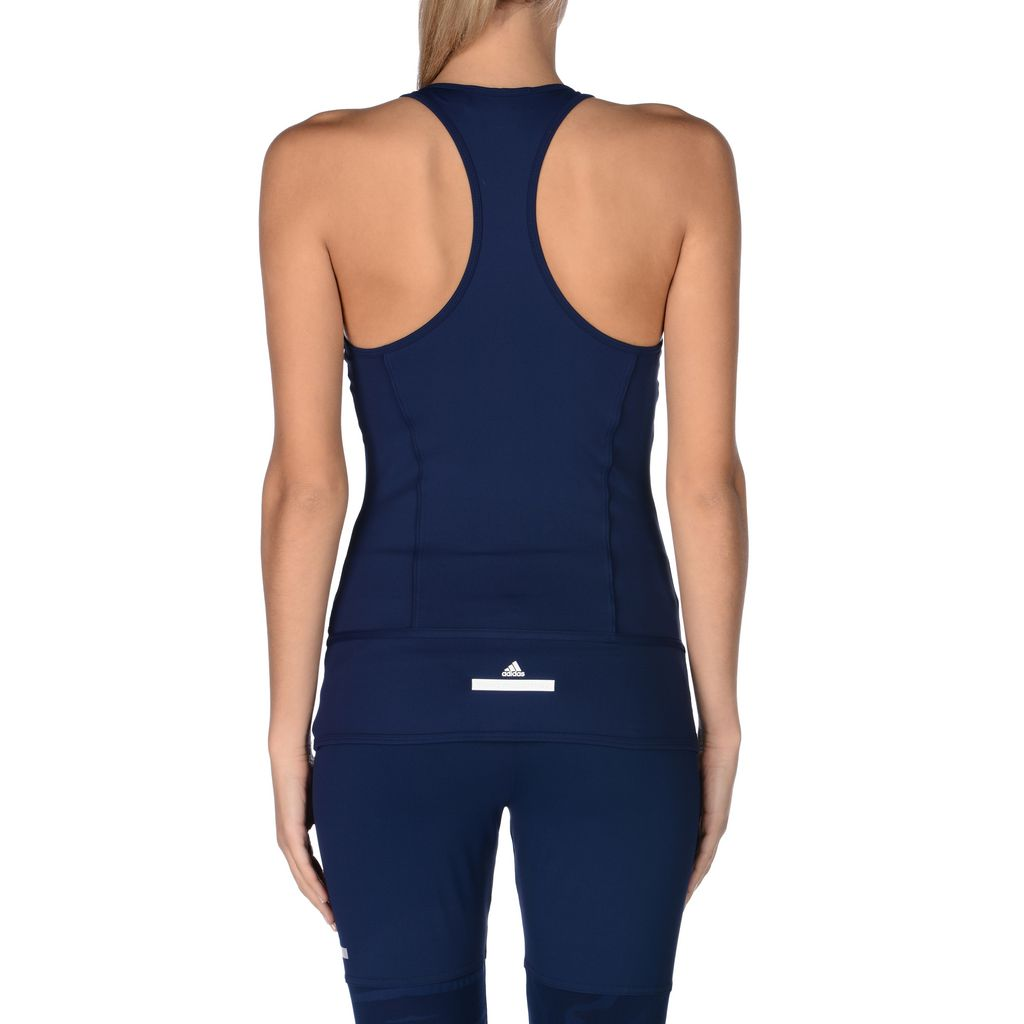 Dark blue studio clima tank  - ADIDAS by STELLA McCARTNEY