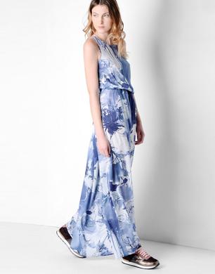 TRUSSARDI JEANS - Long dress