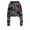 ADIDAS by STELLA McCARTNEY Black Logo Hoodie adidas Topwear D f