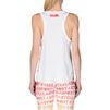 ADIDAS by STELLA McCARTNEY White Aeroknit Tank Top   adidas Topwear D e