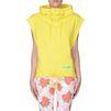 ADIDAS by STELLA McCARTNEY Yellow sleeveless hoodie  adidas Topwear D d