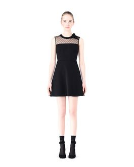 REDValentino Bow detail jersey dress
