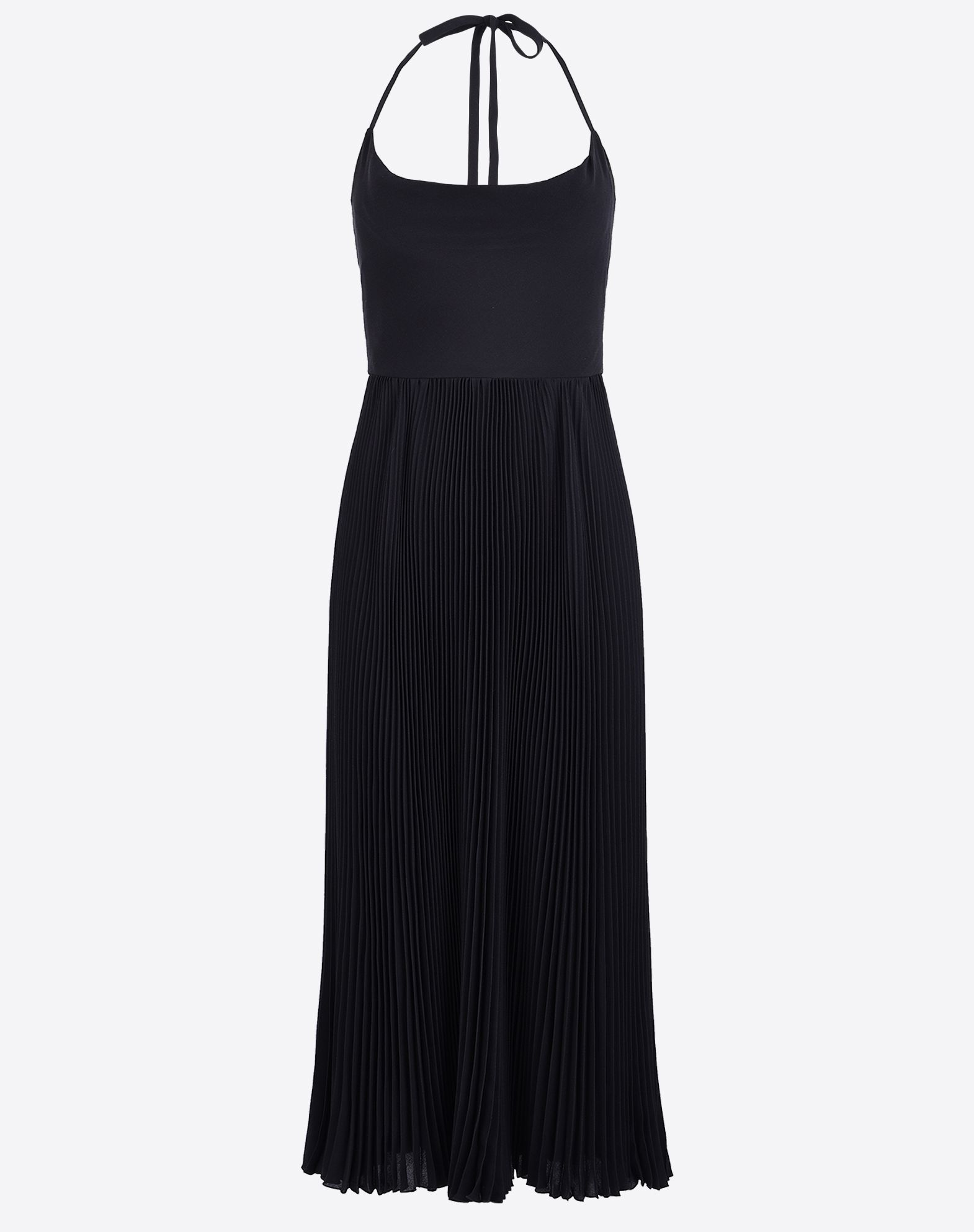 VALENTINO Crêpe Basic solid colour Hook-and-bar, zip Lined interior Sleeveless  34629645jo