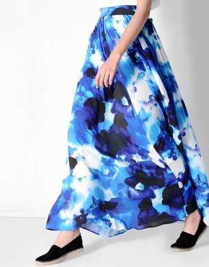 TRUSSARDI JEANS - Long skirt