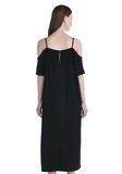 T by ALEXANDER WANG POLY CREPE OFF THE SHOULDER DRESS  3/4 length dress Adult 8_n_d