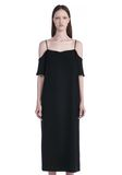 T by ALEXANDER WANG POLY CREPE OFF THE SHOULDER DRESS  3/4 length dress Adult 8_n_e