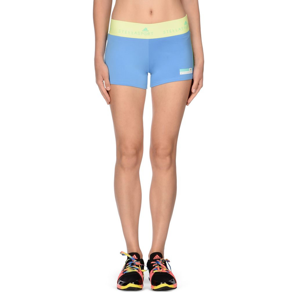 Blue Sports Shorts  - ADIDAS by STELLA McCARTNEY