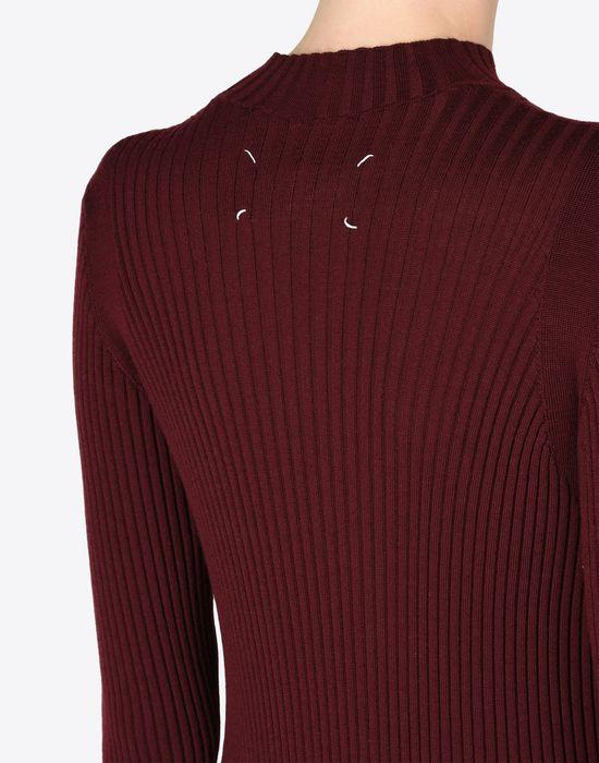 MAISON MARGIELA 4 Wool turtleneck sweater dress Long dress D b