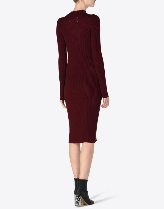 MAISON MARGIELA 4 Wool turtleneck sweater dress Long dress D e