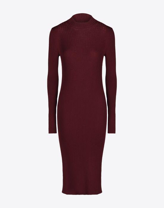 MAISON MARGIELA 4 Wool turtleneck sweater dress Long dress D f