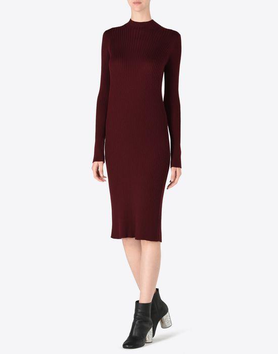 MAISON MARGIELA 4 Wool turtleneck sweater dress Long dress D r