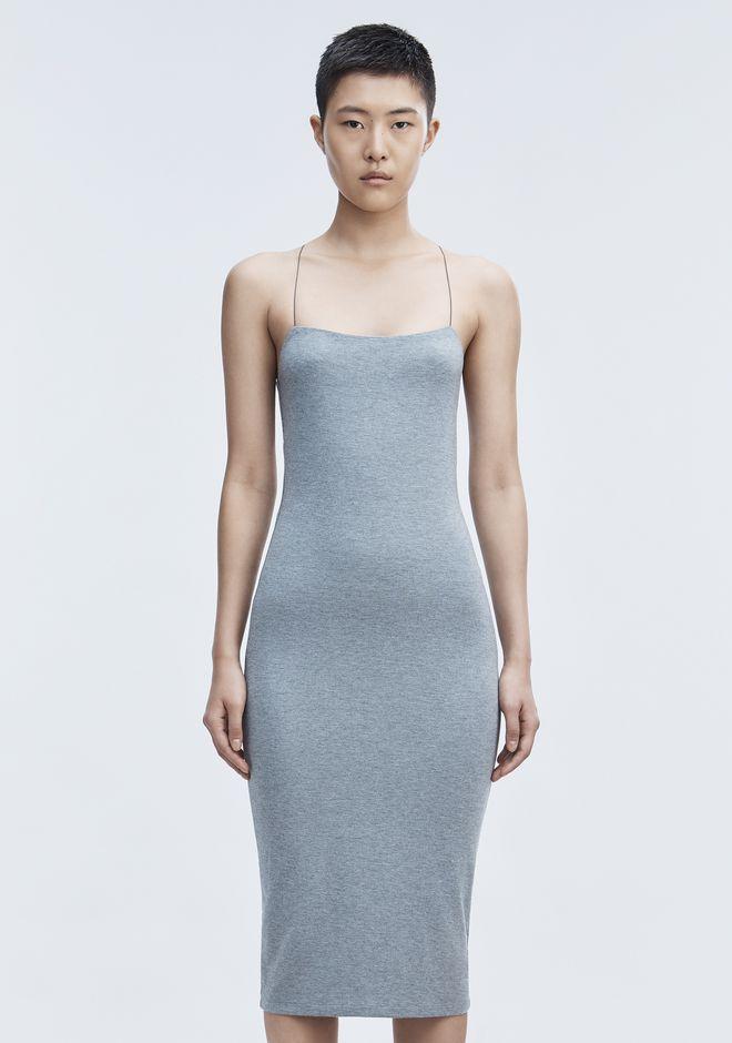 T by ALEXANDER WANG CUT OUT MODAL CAMI DRESS Short Dress Adult 12_n_a