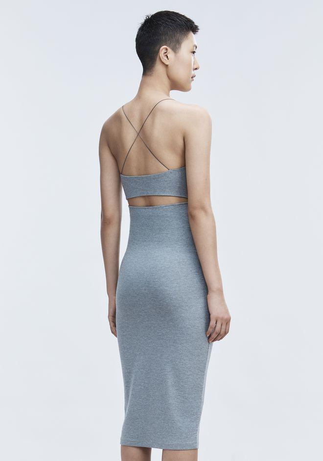 T by ALEXANDER WANG CUT OUT MODAL CAMI DRESS Short Dress Adult 12_n_d