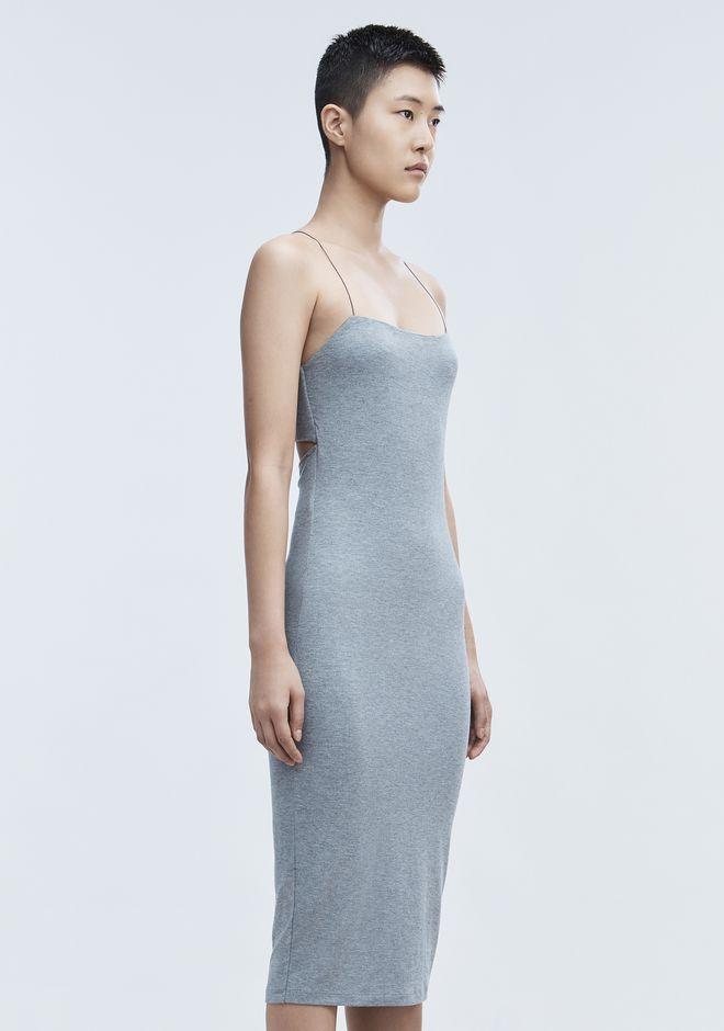 T by ALEXANDER WANG CUT OUT MODAL CAMI DRESS Short Dress Adult 12_n_e