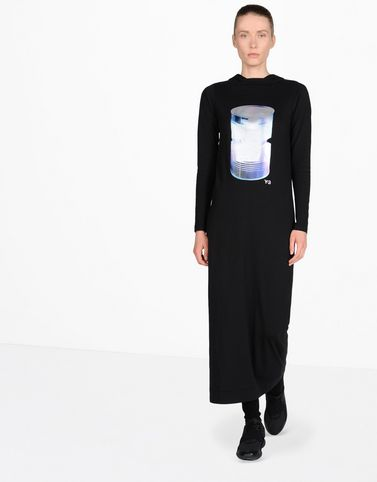 Y-3 GRAPHIC LONG DRESS DRESSES & SKIRTS woman Y-3 adidas