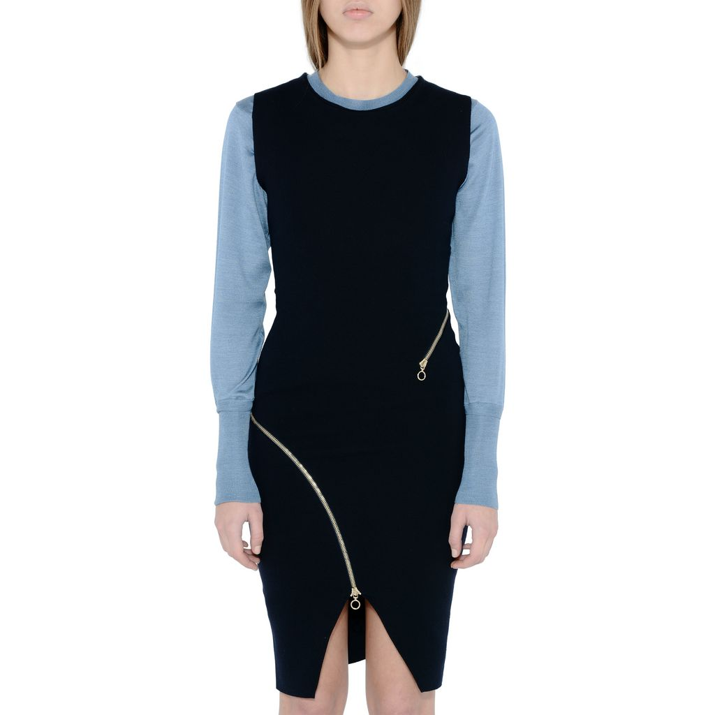 Ink Sleeveless Dress - STELLA MCCARTNEY