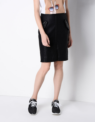 TRUSSARDI JEANS - Short skirt