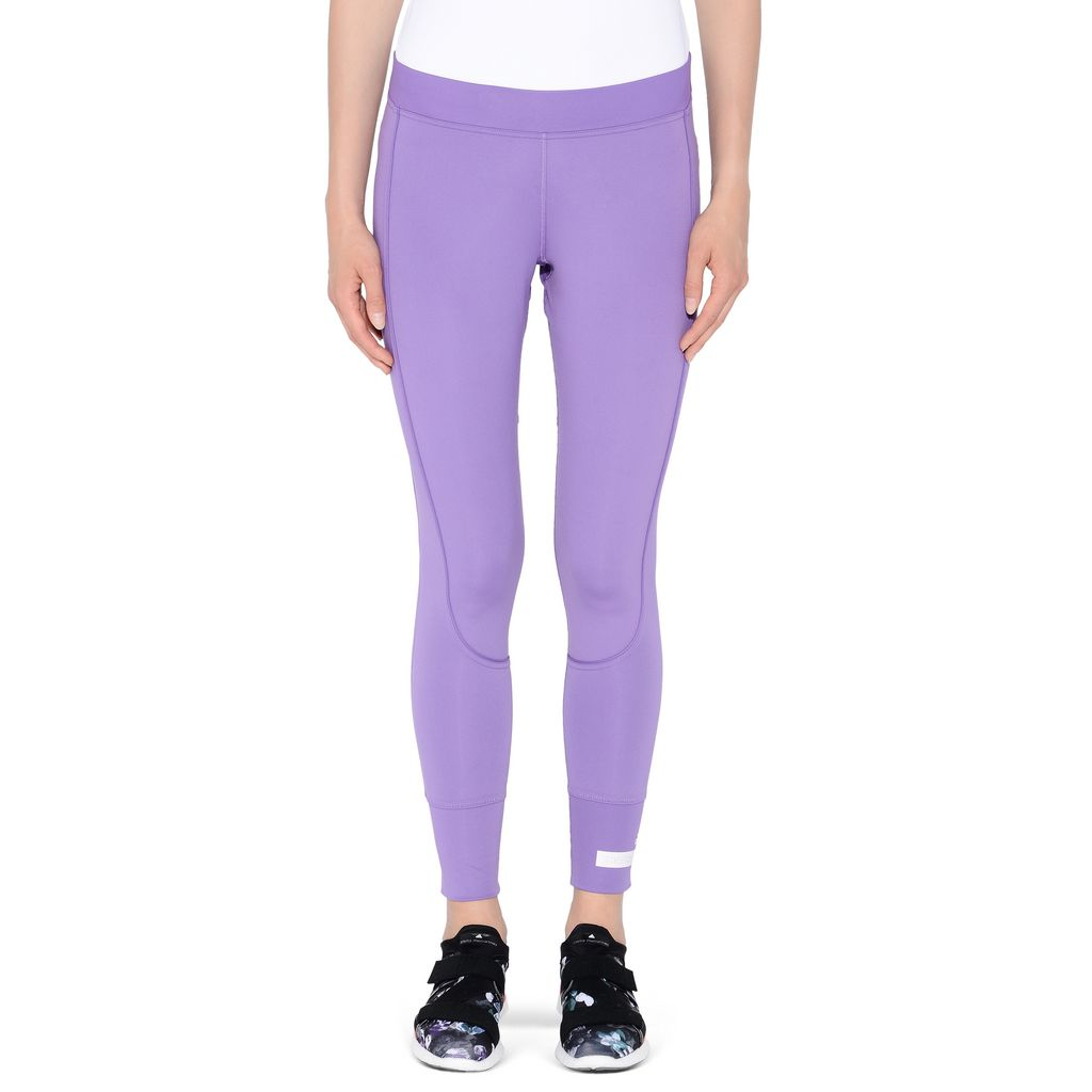 Purple performance leggings - ADIDAS by STELLA McCARTNEY