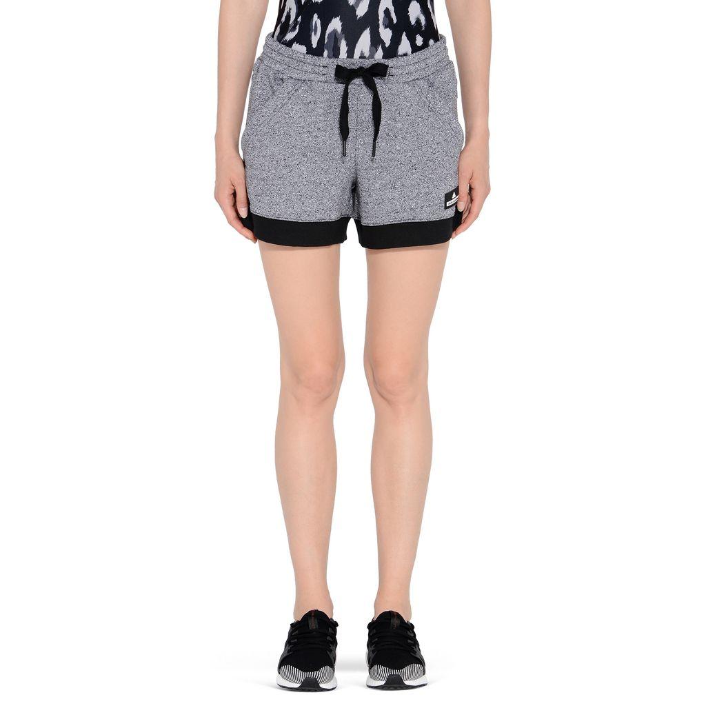 Black essentials knit shorts - ADIDAS by STELLA McCARTNEY