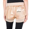 ADIDAS by STELLA McCARTNEY Metallic gold run 2in1 shorts adidas Bottoms D a