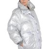 ADIDAS by STELLA McCARTNEY Silver wintersports puffer jacket adidas Jackets D a
