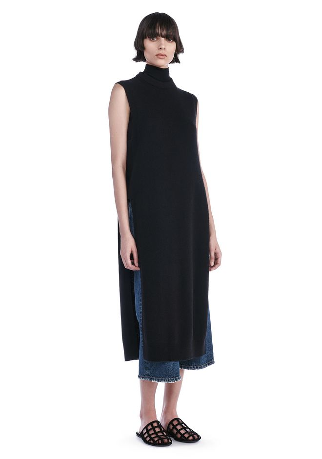 T by ALEXANDER WANG knitwear-t-by-alexander-wang-woman CASHWOOL FLOOR LENGTH DICKIE