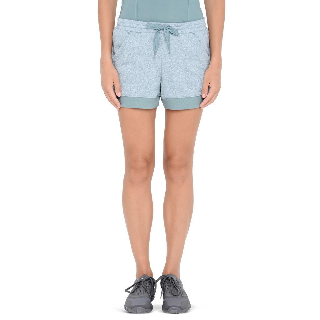 Blue Essentials knit shorts - ADIDAS by STELLA McCARTNEY