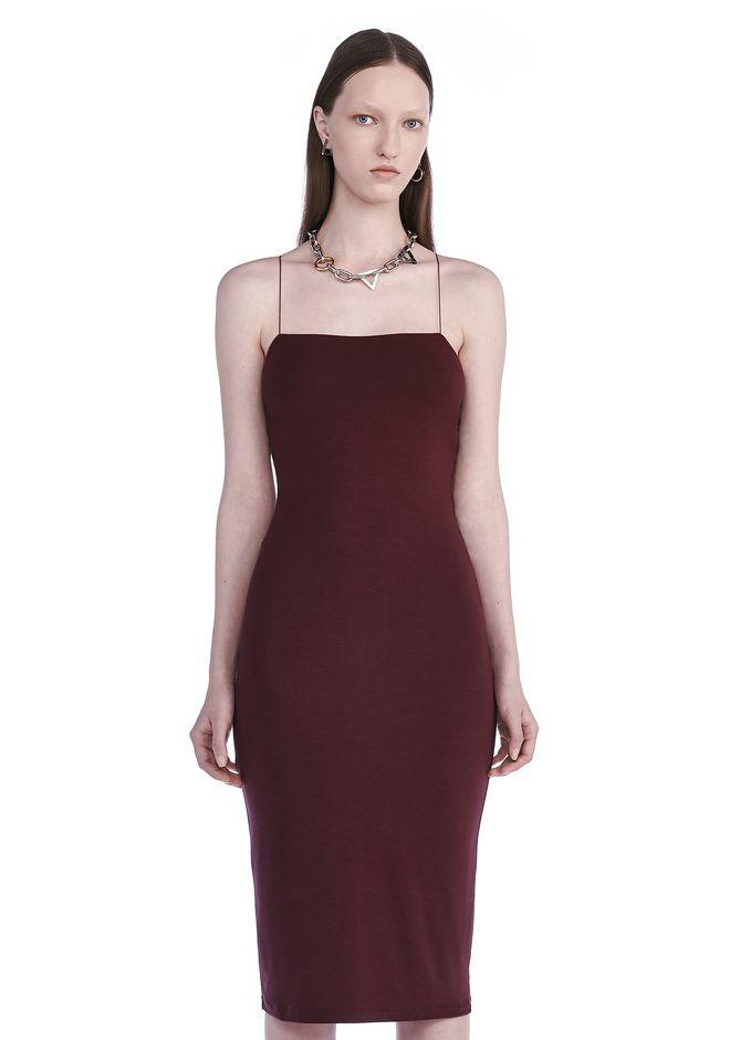 T by ALEXANDER WANG Short Dresses CUT OUT MODAL CAMI DRESS