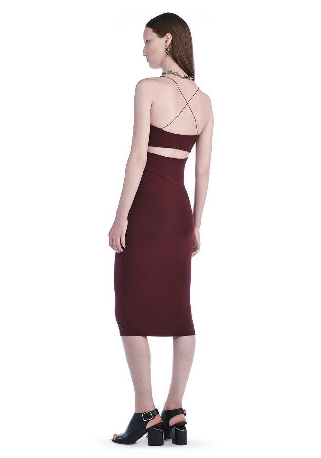 T by ALEXANDER WANG Short Dresses Women CUT OUT MODAL CAMI DRESS