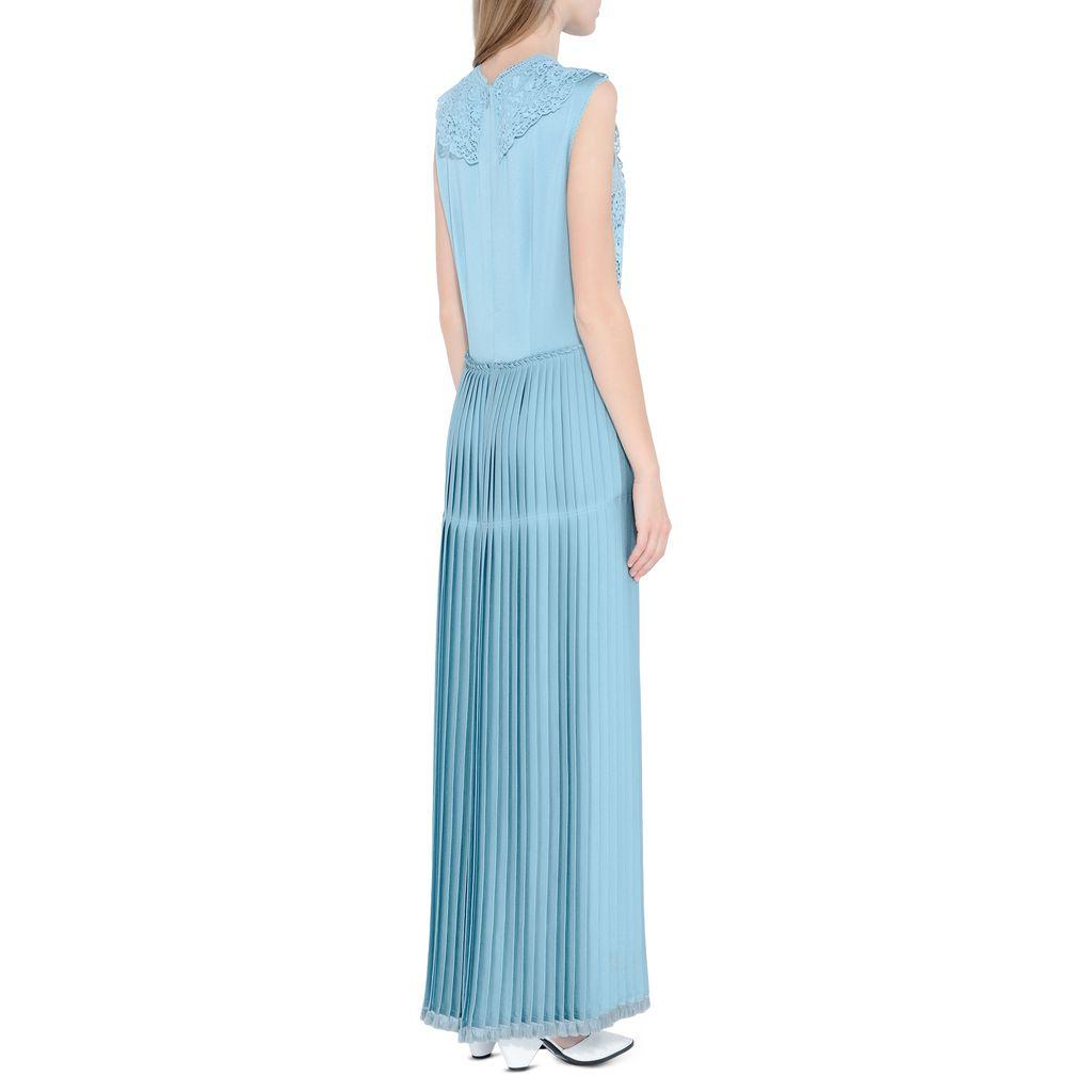 Teal Adele Dress - STELLA MCCARTNEY