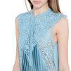 STELLA McCARTNEY Teal Adele Dress Maxi D a