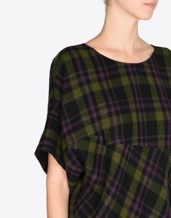 MAISON MARGIELA Light tartan wool dress Short dress D a