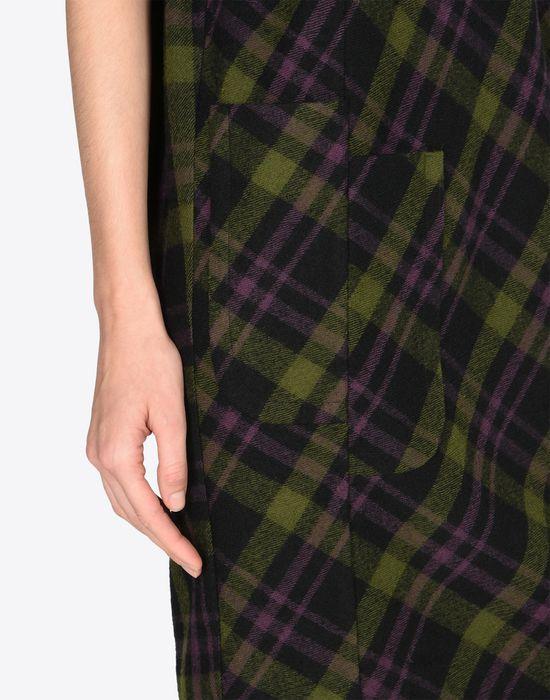 MAISON MARGIELA Light tartan wool dress Short dress D b