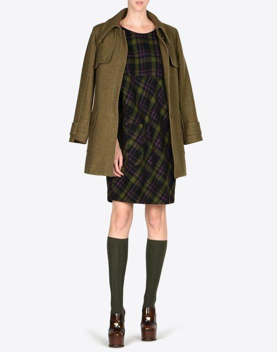 MAISON MARGIELA Light tartan wool dress Short dress D d