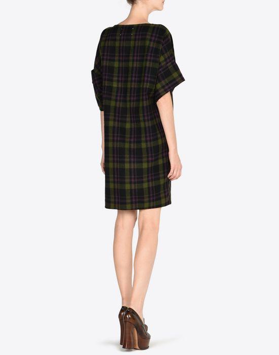 MAISON MARGIELA Light tartan wool dress Short dress D e