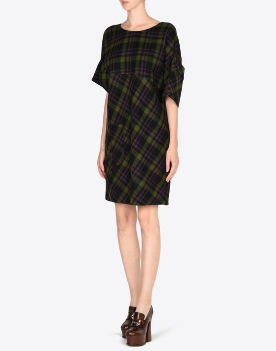 MAISON MARGIELA Light tartan wool dress Short dress D r