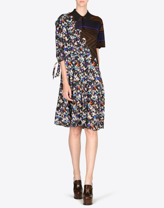 MAISON MARGIELA Fused silk dress Short dress D d