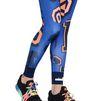 ADIDAS by STELLA McCARTNEY Blue word print leggings  adidas Bottoms D a