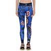 ADIDAS by STELLA McCARTNEY Blue word print leggings  adidas Bottoms D d