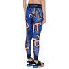 ADIDAS by STELLA McCARTNEY Blue word print leggings  adidas Bottoms D e