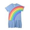 STELLA McCARTNEY KIDS Robe Jess avec imprimé arc-en-ciel Robes & Combinaisons D f