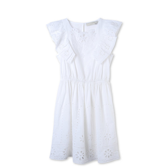 White Alabama Dress