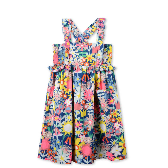 Floral Collage Celeste Dress