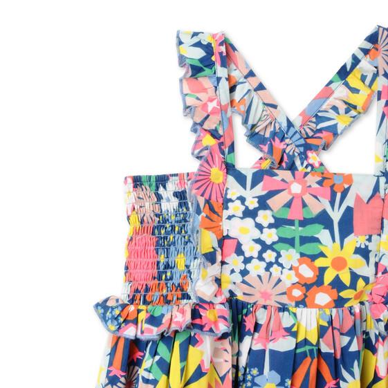 Floral Collage Celeste Dress